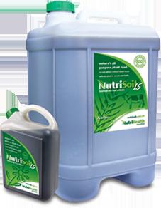 NutriSoil biological liquid fertiliser